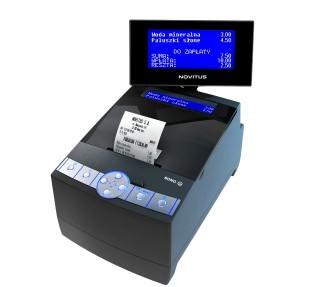 Instrukcja obsługi drukarki fiskalnej Novitus Bono E / Bono E Apteka