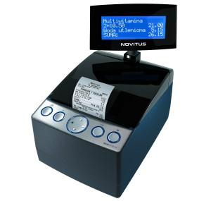 Instrukcja obsługi drukarki fiskalnej Novitus Delio Prime E / Delio Apteka E
